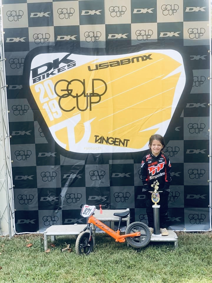 Quest student ends BMX season with a big win