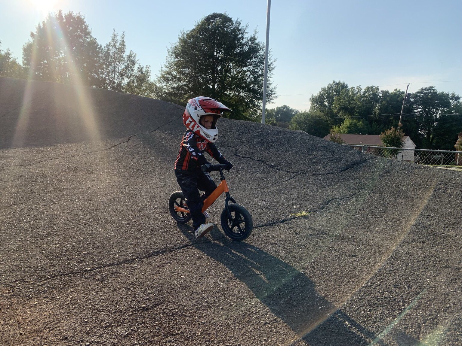 Quest Student is competing in BMX