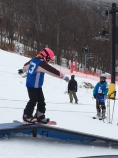 Quest places in Snowboard competition