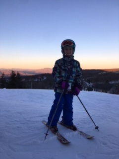 Quest students takes up skiing